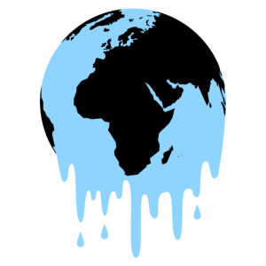 Schmilzende Erde - Klimawandel - Klimaschutz
