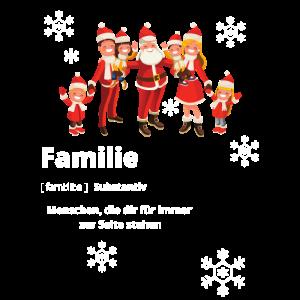 Weihnacht Familie Merry Christmas Geschenk