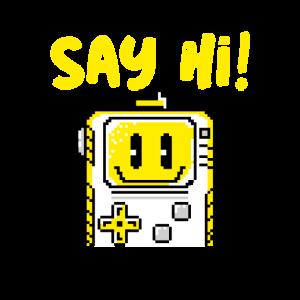 Say hi / Roboter / Geschenk / Kinder