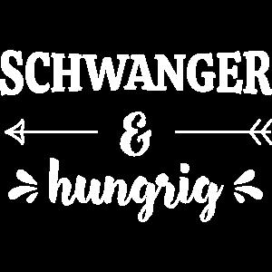 Schwanger & Hungrig Schwangerschaft Baby Geschenk