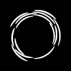 Kreis Design Symbol Weiß Linie Linien