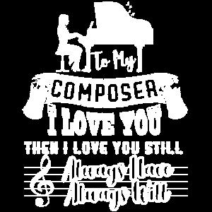 Komponist Ich liebe meinen Komponisten