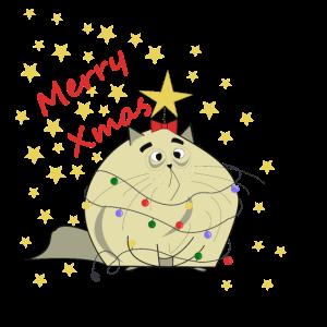 Christmas cat, Christmas Shirt, Merry Christmas