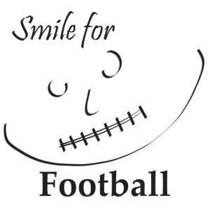 Football: Gesicht - Smile for Football