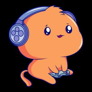 Süßer Gamer Kätzchen Katzenohren Gaming Headset