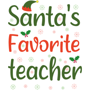 Santa Lieblingslehrer