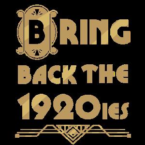 Bringt die 20er Jahre zurück.