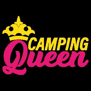 Camping Queen Reise Abenteuer Wandern Geschenk