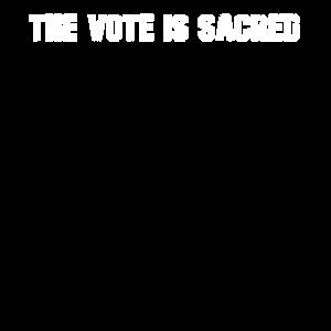 Die Abstimmung ist heilig