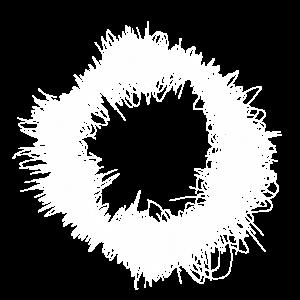 Weiße Licht-Wolle