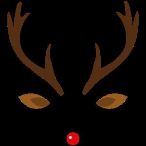 Rentier Weihnachten Geweih