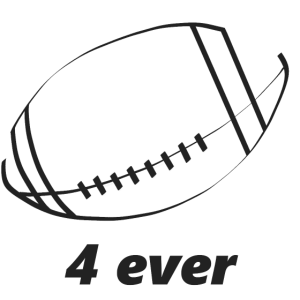 Football 4ever (Dunkles Design)