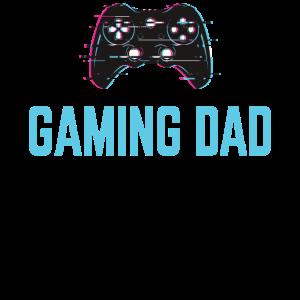 Gaming Dad Gamer Papa Zocken Zocker Videospiele