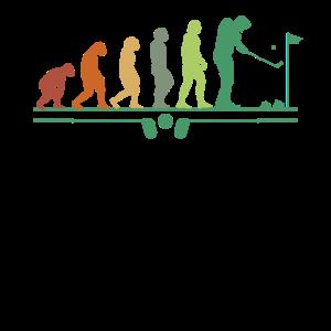 Evolution Golf game Golfspieler Golfball Golfer