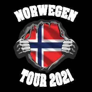 Norwegen Angel und Fischer Design