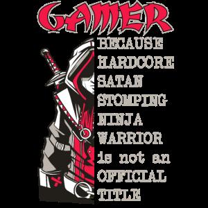 Ninja Gamer | Samurai Gamer | Japan Zocker