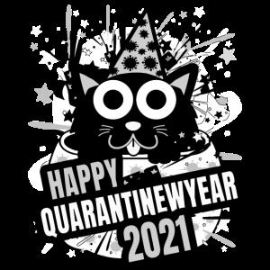 Frohes Quarantäne Neujahr Hoodie
