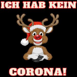 Rudolf hat kein Corona