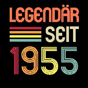 66ter Geburtstag Legendär Seit 1955 Geschenk