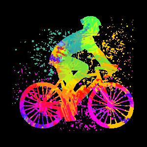MTB Mountainbike Radfahrer Geschenk