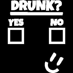 Betrunken Betrinken Saufen Alkohol Party Abfeiern