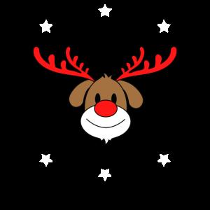 Rudolph Rentier Xmas Weihnachten Geschenkidee