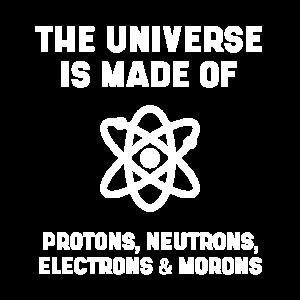 Das Universum besteht aus Protonen, Neutronen und Elektro