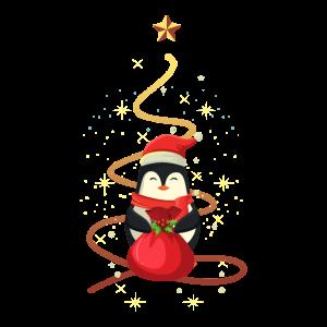 Pinguin Weihnachten
