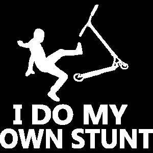 Stunt Scooter Spruch
