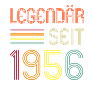 65ter Geburtstag Legendär Seit 1956 Geschenk