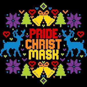 Ugly Christmas Pride Christmask LGBT Regenbogen