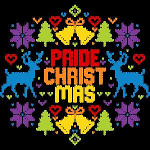 Ugly Christmas Pride Christmas LGBT Regenbogen