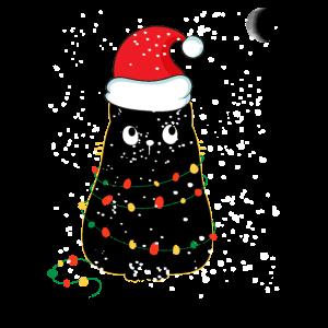 Weihnachtskatze / Weihnachtslicht / Miau Weihnachten