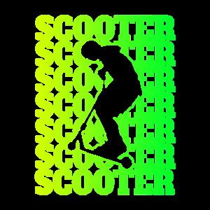 Scooter Sport Design / Geschenkidee