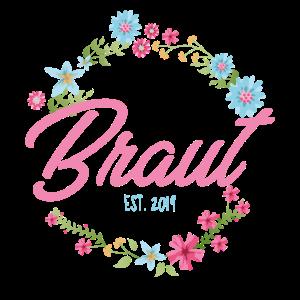 Braut T-Shirt - Blumenkranz 1 - JGA
