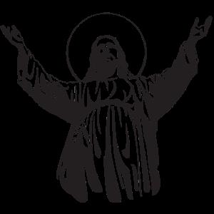 Jesus Christus in einem Haus