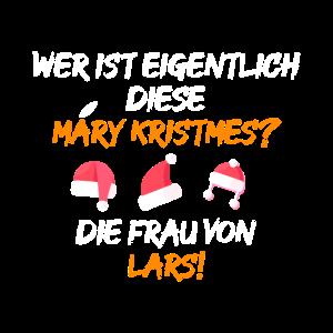 Denglisch Mary Kristmes Merry Christmes Lehrer