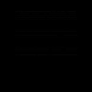 Niedliche Hamster Musiknoten Musiker