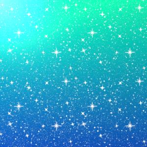 Farbverlauf Sterne Glitzer Hintergrund