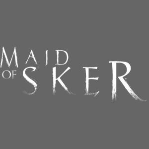Maid Of Sker - Logo White