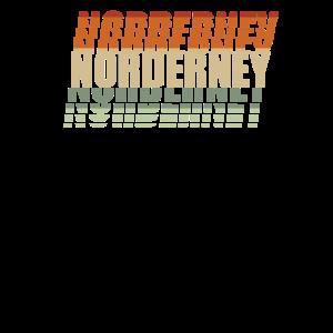 Norderney Nordsee Insel Norddeutsch Vintage