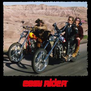 Easy Rider Auf Den Bikes