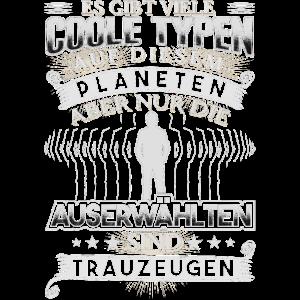 Witziges Geschenk für Trauzeugen Shirt