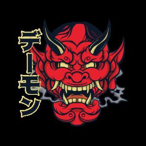 Hannya Mask Teufel Japan Dämon