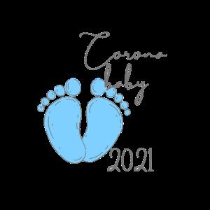 Corona Baby 2021 - blau