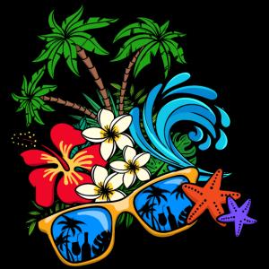 Sommer Sonne Urlaub Ferien Palmen Karibik Reisen