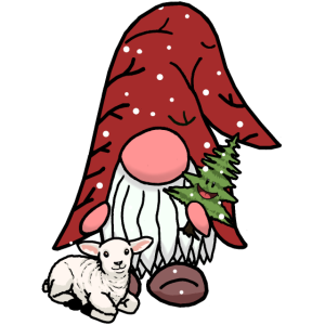 Xmas Wald Zwerg Nikolaus Christmas Schnee