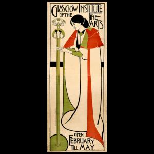 Arts & Crafts Art Nouveau Jugendstil Glagow 1900