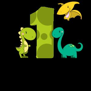 1 jähriger Junge Dinosaurier 1. Geburtstag