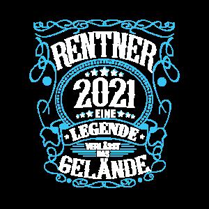 Rentner 2021 Eine Legende verlässt das Gelände